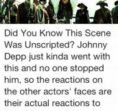 From The First Pirates Of The Caribbean