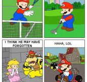 Mario Has Been Living The Life