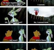 Piglet, Can You Knot?
