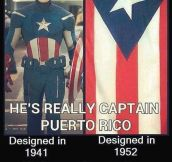 So, No Captain Puerto Rico?