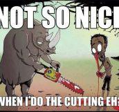 Rhinos Get Revenge