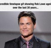 Rob Lowe Ageing
