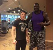 That Guy Is Huge