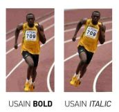 Types Of Usain