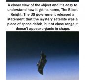 The Black Knight: Alien Satellite