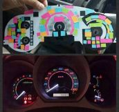 Cheap Rainbow Dashboard