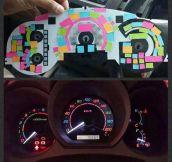 Cheap Rainbow Dashboard