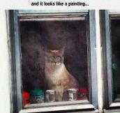 Work Of Art Cat