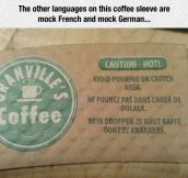 This Coffee Sleeve Is Hilarious