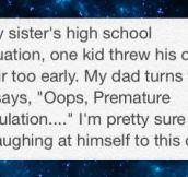 Graduation Dad Joke