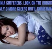 Insomnia Has Its Bright Side