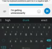 Keyboard Predictions