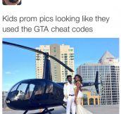 Kids' Prom Pics