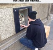 London Cash Machines
