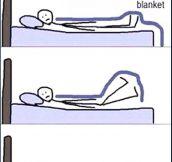 What I Do To Sleep Comfy