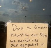 Due To Ghosts