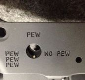 To Pew Or Not To Pew