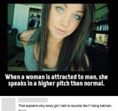 When A Woman Is Attracted To A Man