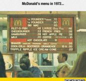 Old McDonald's Menu
