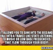 Sonic Bed With Speakers