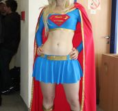 Supergirl At The Office