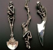 Skeleton Themed Utensils