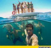The Coolest Group Selfie I've Ever Seen