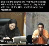 Emotional Reunion In Court