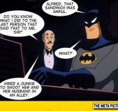 Never Insult Alfred