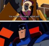 Batman On Gender Equality