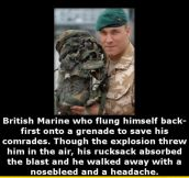 Lucky British Soldier