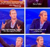 Harry Potter Vs. Thor