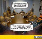 Aliens Send A Message