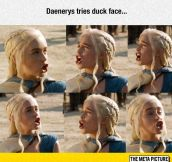 Game Of Duck Face