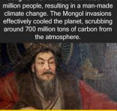 Good Guy Genghis?