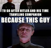 Han And Vader Were Working Together