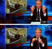 Jon Stewart Reacts To Donald Trump