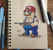 'Murican Mario