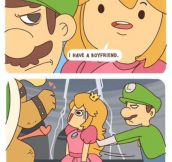 Luigi Doesn't Mess Around