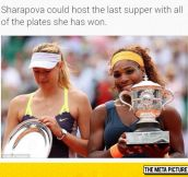 Sharapova's Accomplishments