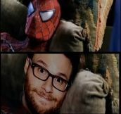 Behind Spiderman's Mask