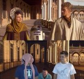 Star Wars' Stage In Real Life