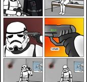 Stormtrooper Gets Fired