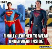 Superman Has Learned, At Last