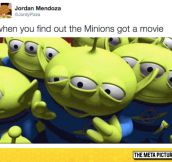 Toy Story Vs. Minions