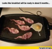 Breakfast May Take Some Time