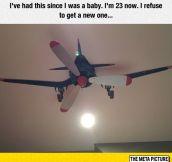 No More Boring Ceiling Fan
