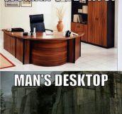 Men Vs. Women Desktops