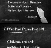 Effective Parenting 101