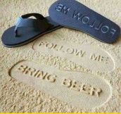 The Coolest Flip-Flops